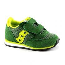 SAUCONY ST56369 JAZZ HL zapatos del bebé verde rasgan